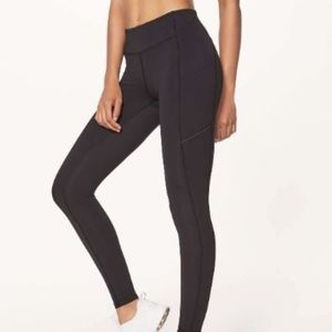 Lululemon Speed Up Tight Black Leggings 6